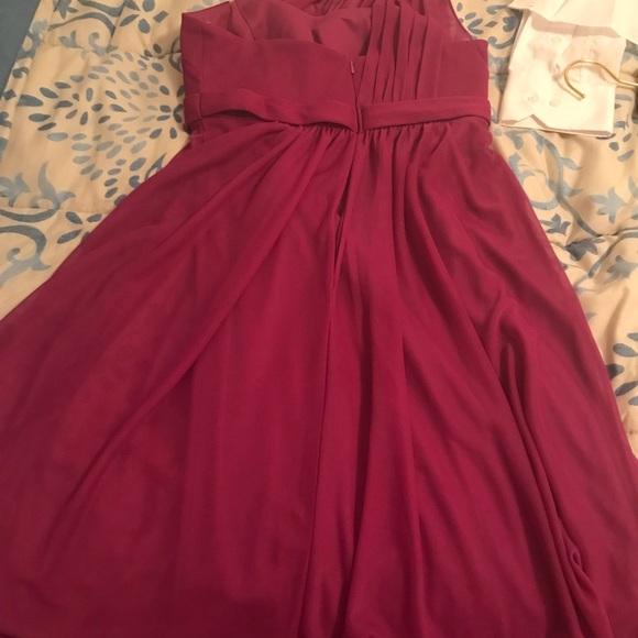 Raspberry Junior Bridesmaid Dresses